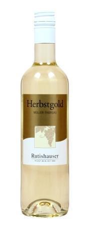 Herbstgold weiss Müller-Thurgau  50 cl. 