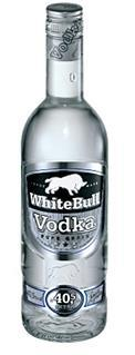 White Bull Vodka pure 70 cl. N     